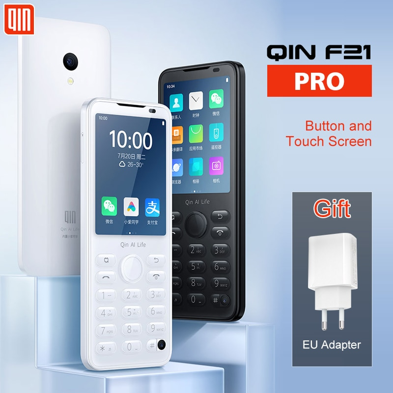 Qin F21 Pro VoLTE 4G Network Wifi 2.4G 2.8 Inch IPS Bluetooth 5.0  Infrared Remote Control GPS Translator Android Phone You Pin