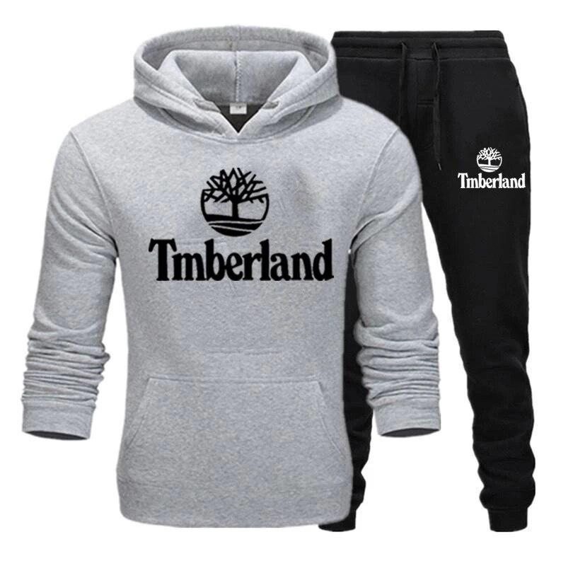 Модная мужская спортивная одежда Толстовка для бега спортивная одежда Timberland мужская повседневная спортивная одежда с капюшоном мужская Сп...