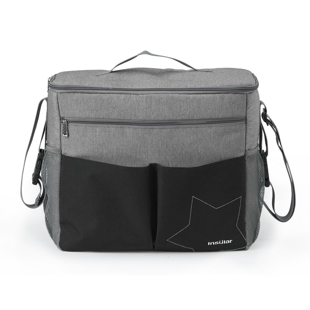 Hooking Stroller Organizer Travel Baby Trolley Bag Stroller Accessories Cup Holder Waterproof Maternity Mommy Bag Stroller Bag