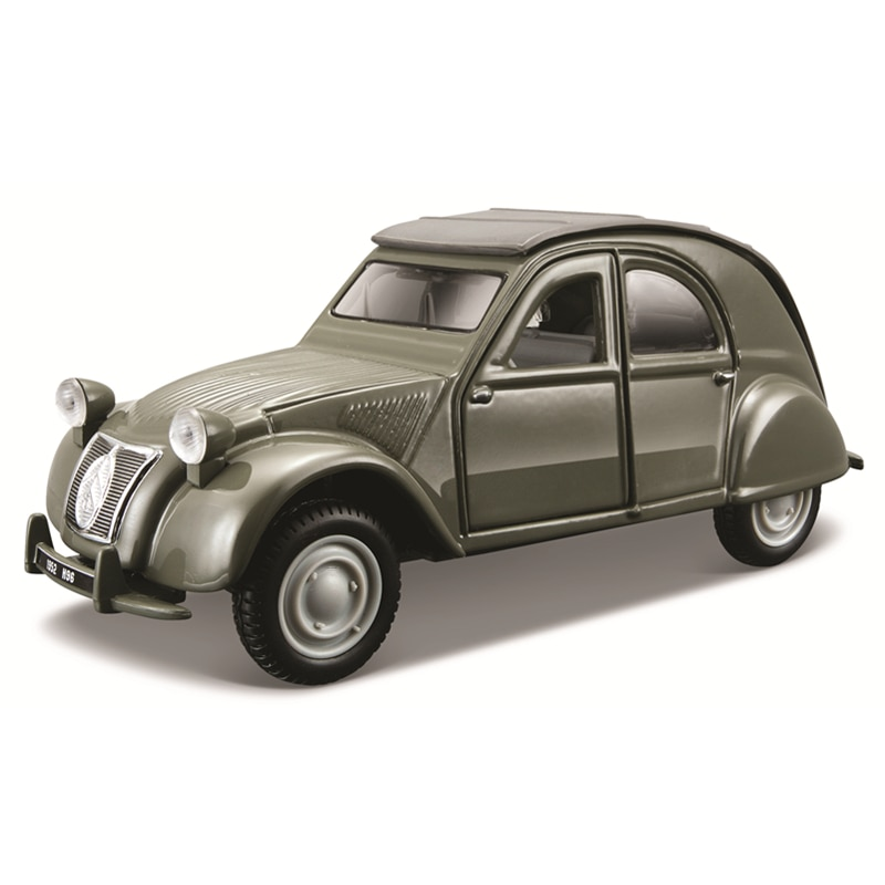 Bburago 1:32 Scale 1952 Citroen 2CV Alloy Luxury Vehicle Diecast Cars Model Toy Collection Gift alloy model gift 1 50 scale scania a90 city wide transit bus vehicle diecast toy model for collection decoration