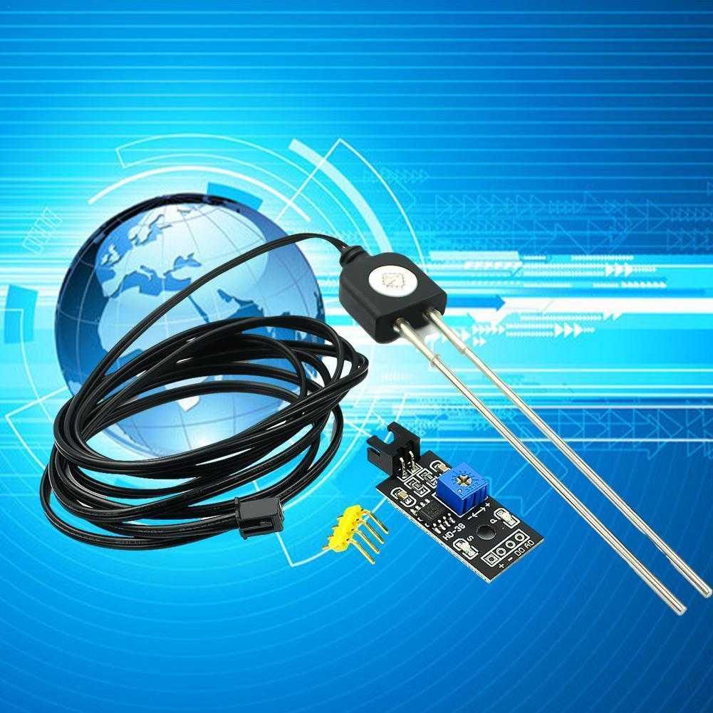1 шт., датчик влажности почвы и модуль детектора почвы, тестирование почвы для Arduino, тестирование сопротивления, датчик влажности, датчик вла...