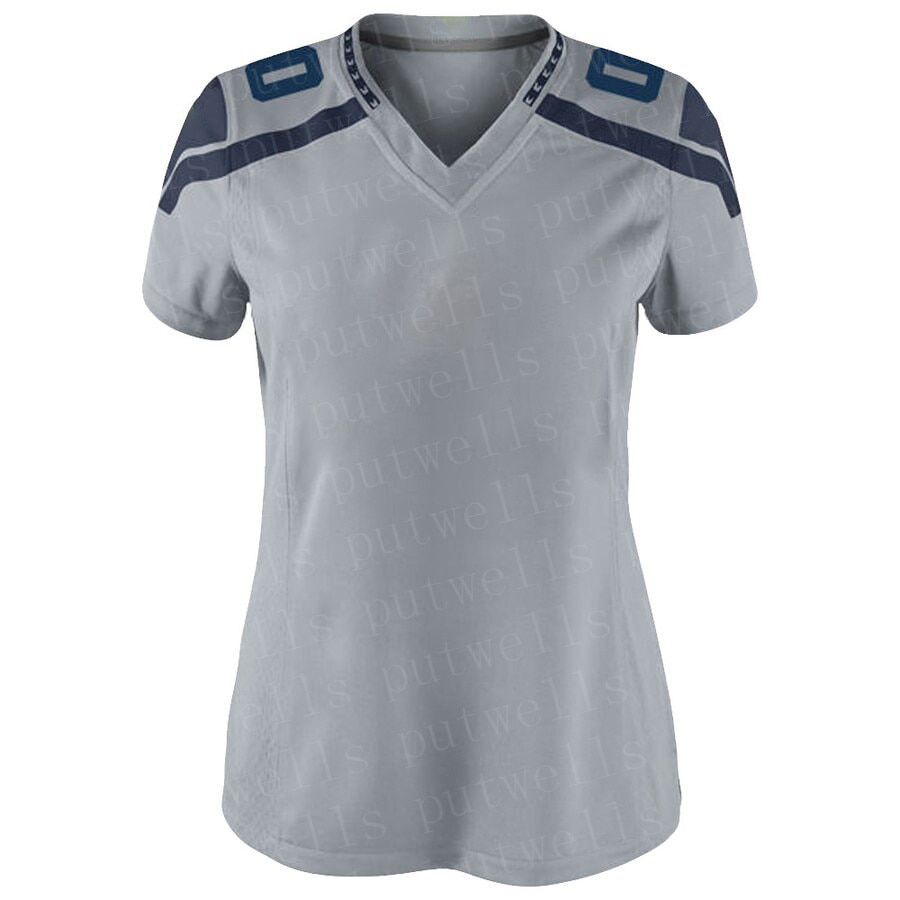 Jersey de punto personalizado para mujer, fútbol americano, Seattle, jerséis para seguidores, camiseta de SHERMAN, GRIFFIN, DIGGS, CARSON, EASLEY, DICKSON