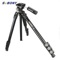 SVBONY Tripod SV107 Portable Travel Aluminium Camera Tripod Accessories Stand with Pan Head for Dslr Camera Record Live