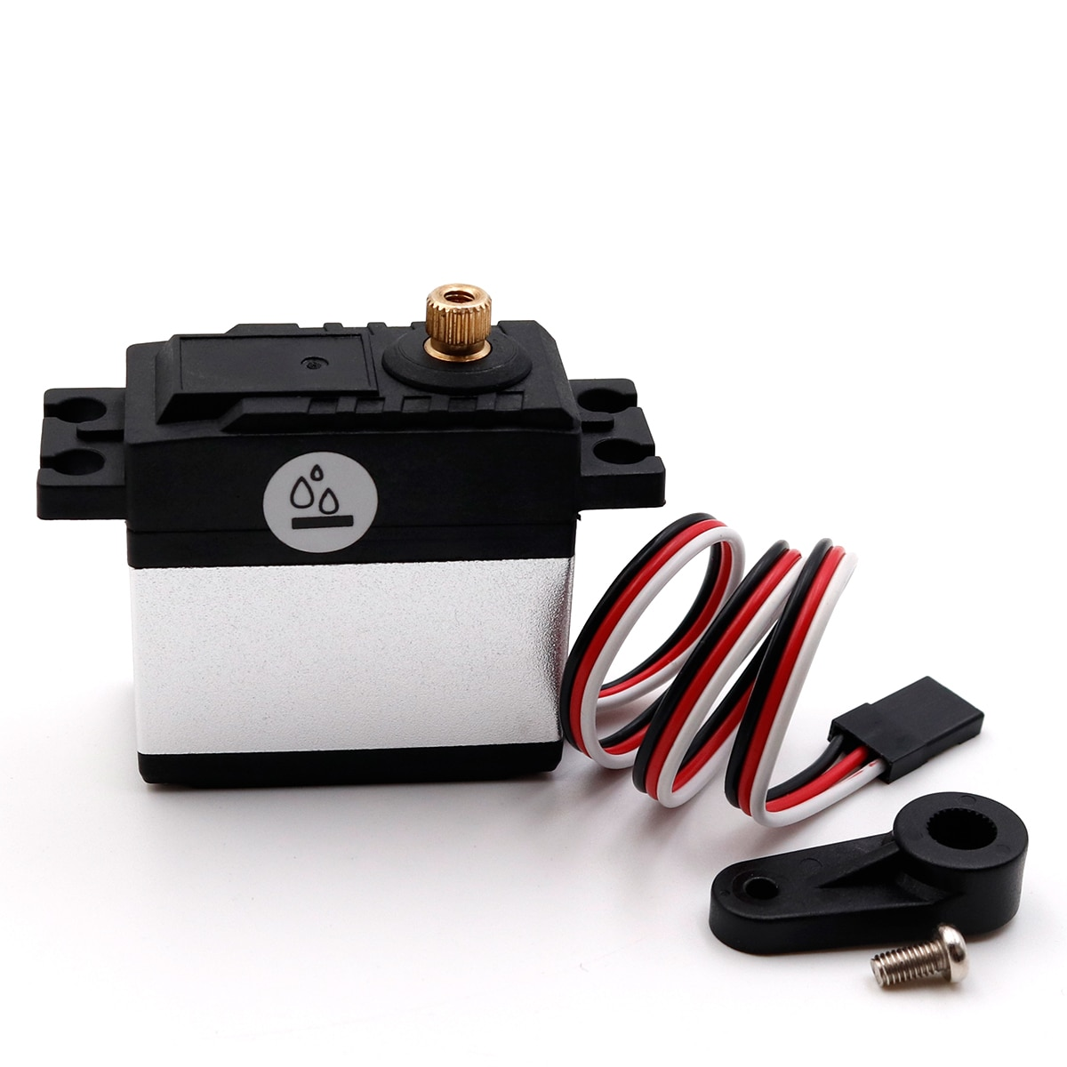 Equipo de Servo Metal 15Kg 6015, resistente al agua, Servo de alto torsión, 6V-7,4 V, a control remoto para coche, barco conectado