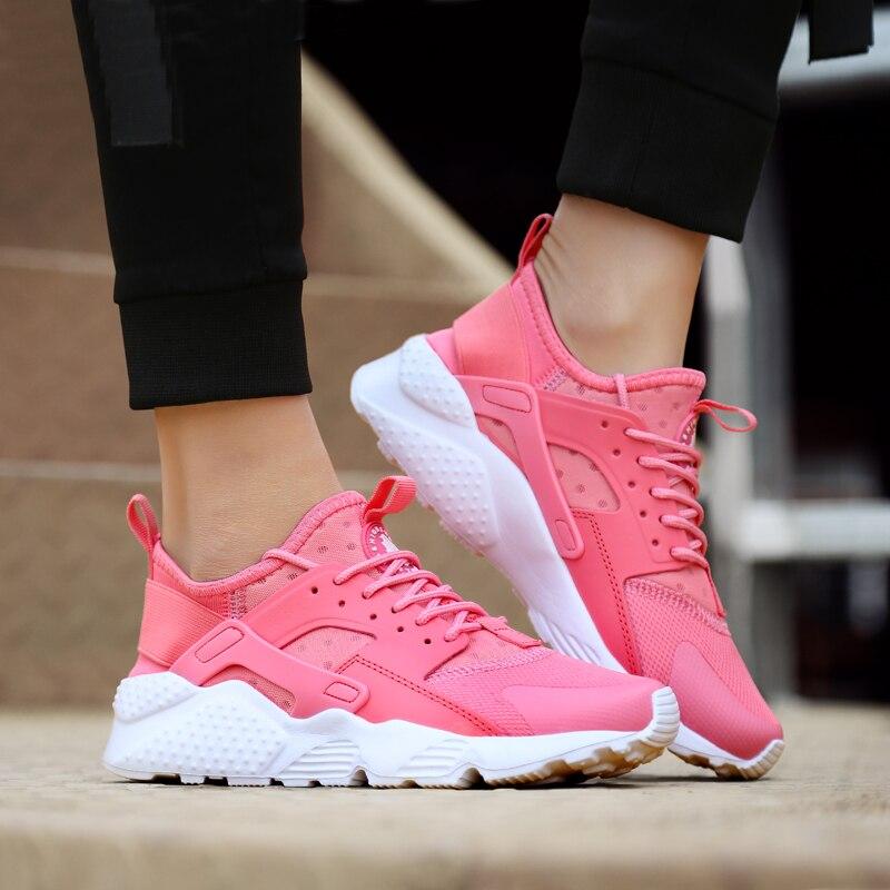 35-41 de talla grande para mujer Zapatillas de deporte transpirables zapatos para correr al aire libre de las mujeres al aire libre deportes zapatos de mujer zapatos de gran tamaño de calzado de Tenis