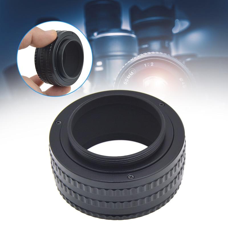 M42 a M42 lente de montaje de enfoque ajustable Macro tubo adaptador 25-55mm SD998