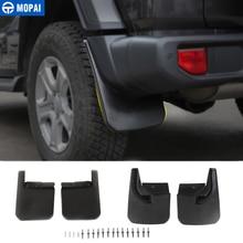 Garde-boue de voiture MOPAI pour Jeep Wrangler JL 2018 garde-boue avant arrière garde-boue pour accessoires Jeep JL Wrangler