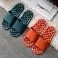 slippers men indoor eva non slip hotel summer slippers couple unisex bathroom home slippers soft hallow flat shoes for female