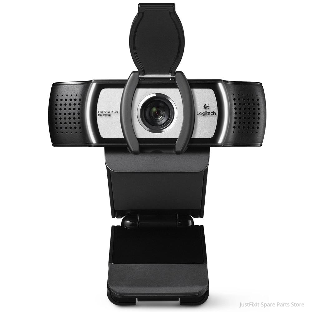 لوجيتك-كاميرا ويب C930c لسطح المكتب أو الكمبيوتر المحمول ، USB ، 1080p HD ، كمبيوتر محمول ، مؤتمرات فيديو ، تصحيح أخطاء جيد عبر الإنترنت