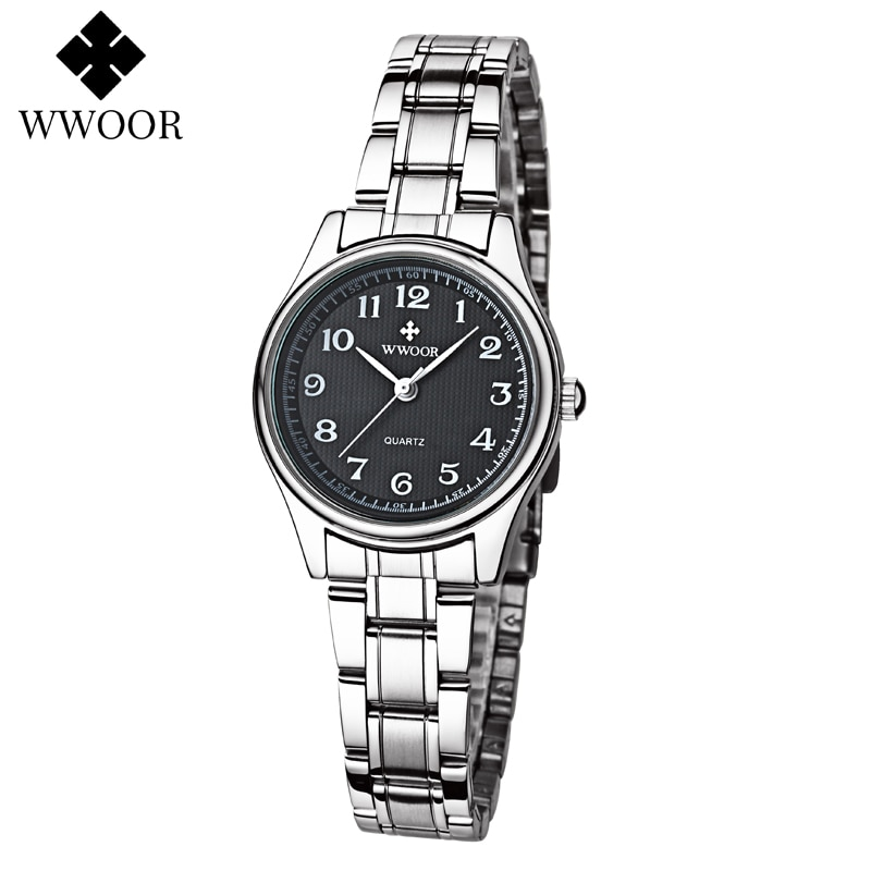 WWOOR 2021 Ladies Watch Top Brand Luxury Fashion Minimalist Casual Women's Wrist Watch Bracelet Quartz Waterproof Dress Watches enlarge