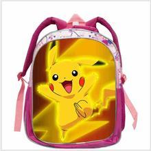 Fashion Leuke Schooltassen Voor Meisjes Roze Pikachu Cartoon Rugzak Kinderen Schooltassen Kinderen Mochilas