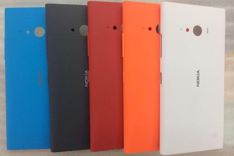 Novedad de 100%, funda trasera para Nokia 730 735, funda carcasa con...