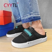 cyytl platform fashion men outdoor walking slide shoes casual summer slip on breathable lazy sneakers boys indoor slippers
