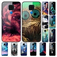case for huawei nova 5i pro back phone cover black silicone bumper with tempered glass series 3