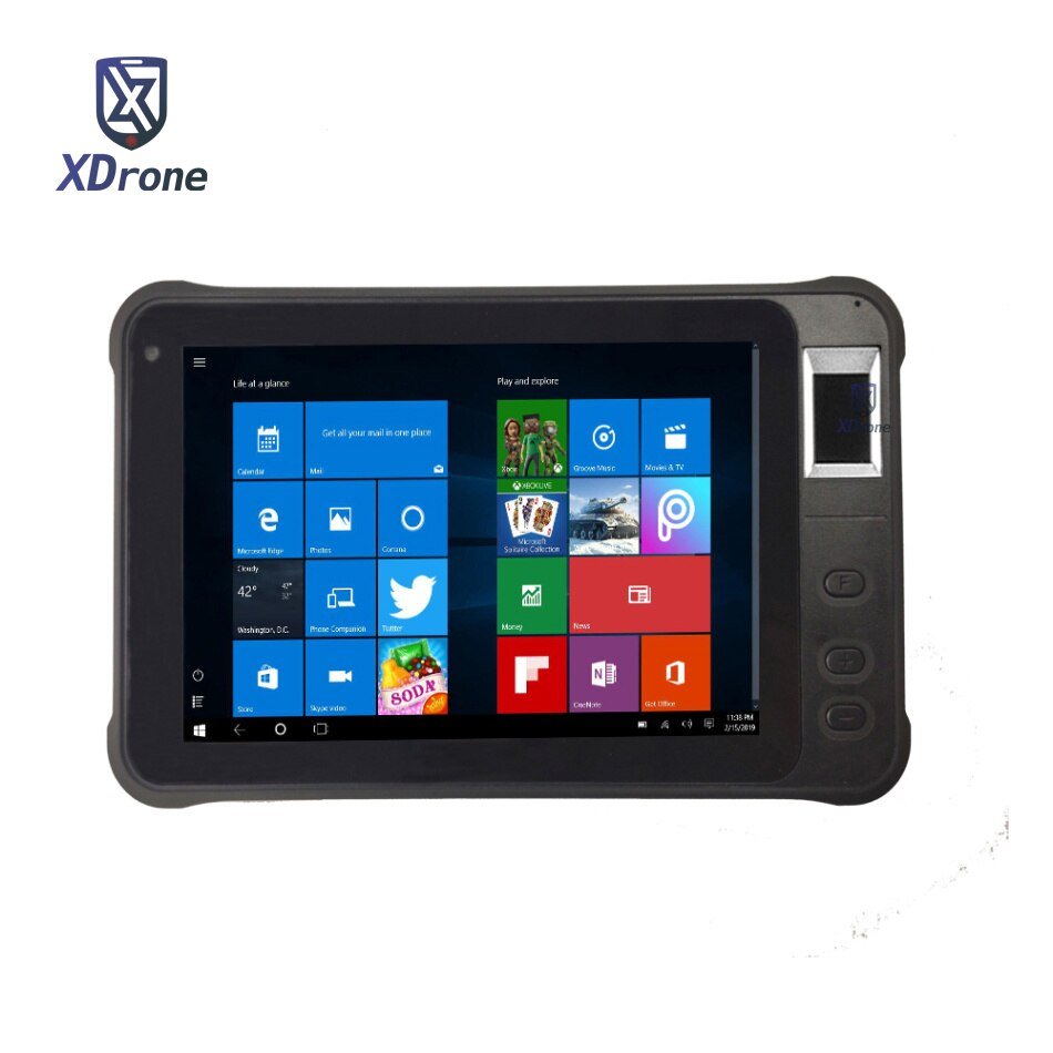Original Kcosit K75 Rugged Windows Tablet PC Fingerprint Reader UHF RFID IP67 Waterproof 7
