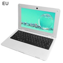 10.1 Inch 1GB RAM 8GB ROM A33 CPU Notebook Windows10 Laptop Student Netbook with line WIFI For Stude