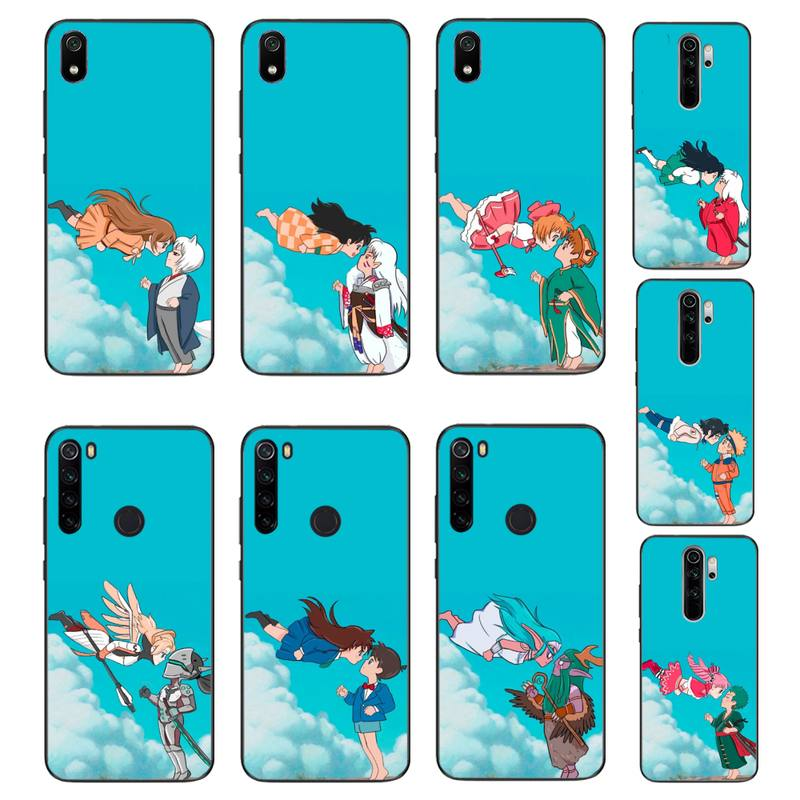 YJYDNHBD dibujos animados cp amantes de la cubierta del teléfono para Xiaomi Redmi Note8T 7 9 Pro 5A Redmi4X 5A 6A 6 7 8 5Plus