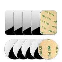 Тонкая металлическая пластина для магнитного автомобильного держателя телефона железная лист наклейка диск для магнитного планшета насто...