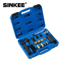 18PC zestaw narzędzi do demontażu ściągacza wtryskiwaczy dla VAG Audi fotel VW Skoda 1.4 1.6 1.8 2.0 V6 V8 FSI benzyna SK1200