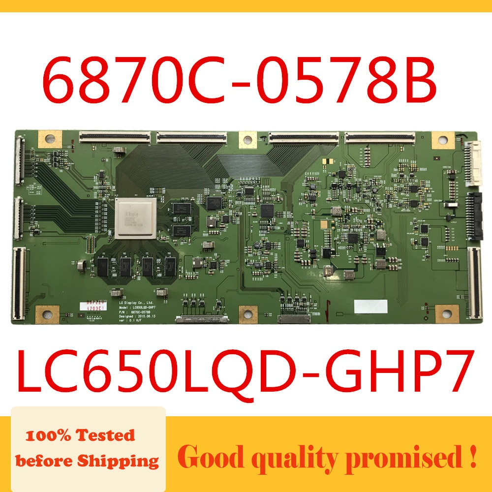 Placa de tv 6870c-0578b para lg Board Placa Lógica 0578b T-con lg Tcom 6870c0578b Lc650lqd-ghp7 t Con 6870c