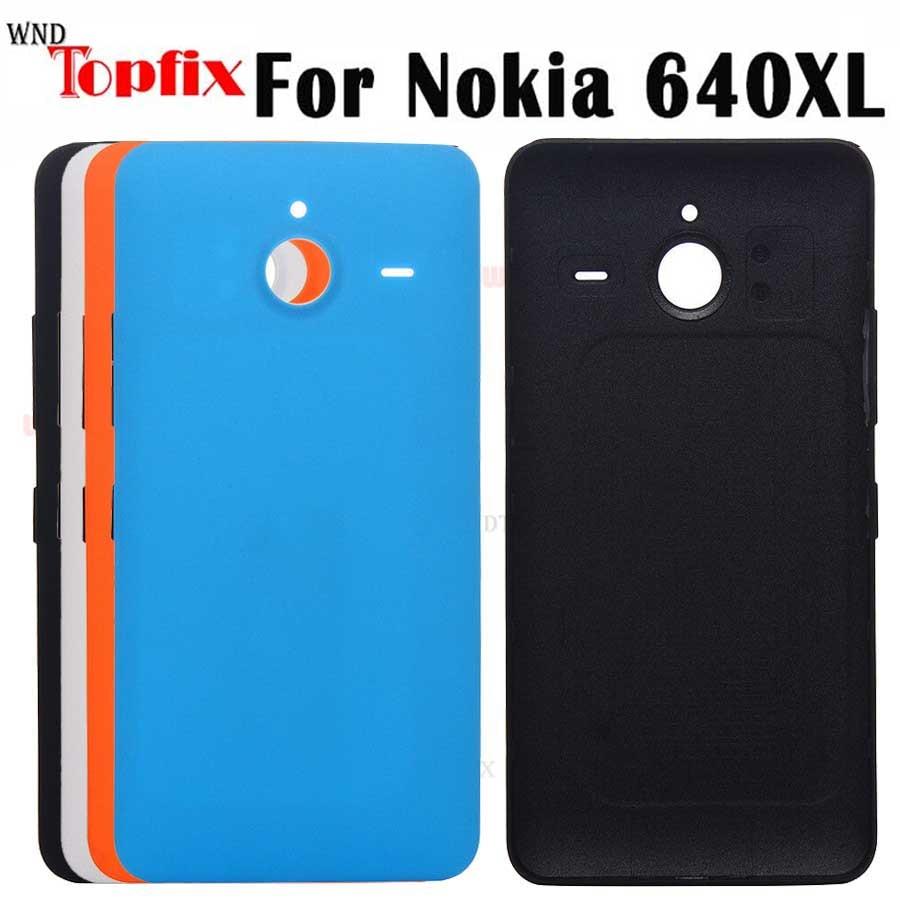 Funda trasera para Microsoft Lumia 640XL, carcasa rígida de reemplazo para Nokia...