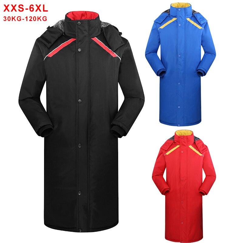 Зимние длинные мужские куртки, теплые толстые хлопковые парки с капюшоном, мужские повседневные Модные флисовые теплые пальто, ветровка, па...
