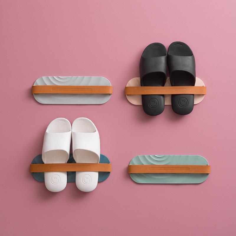Estante colgante para Zapatos montado en la pared, Organizador De Zapatos, zapatillas,...