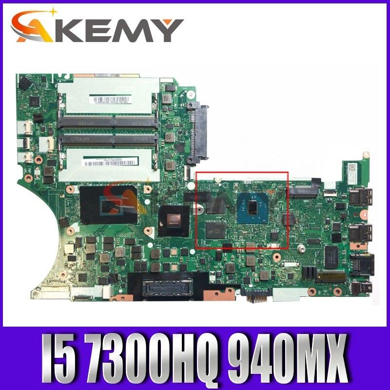 Akemy لينوفو ثينك باد T470P اللوحة المحمول DT473 NM-B071 وحدة المعالجة المركزية I5 7300HQ GPU 940MX 2GB 100% اختبار العمل FRU 01HW895 01HW896