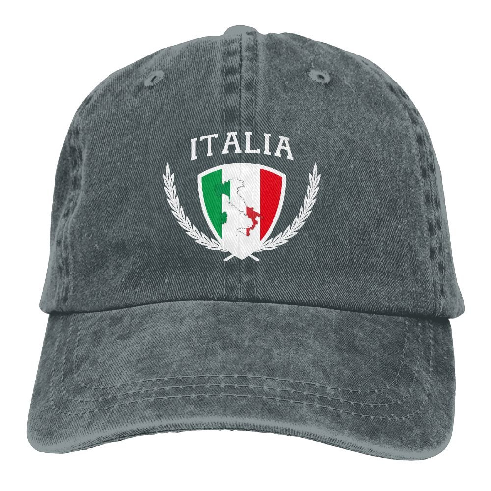 Italia Italy Italian Flag Adult Cap Adjustable Cowboys Hats Baseball Cap