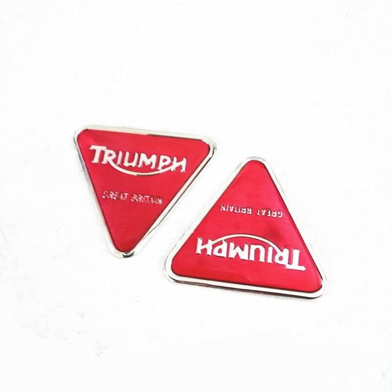 Pegatina de tanque de combustible para motocicleta, etiquetas adhesivas de advertencia para Triumph Supreme, pegatina para casco, etiqueta de propósito General de epoxi de aluminio