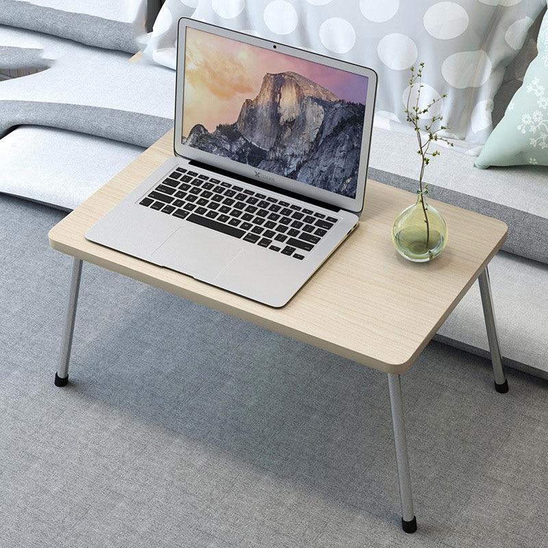 Складной Портативный столы для ноутбуков подставка держатель Рабочий стол деревянный складной компьютерный стол для кровати дивана и Чай ...