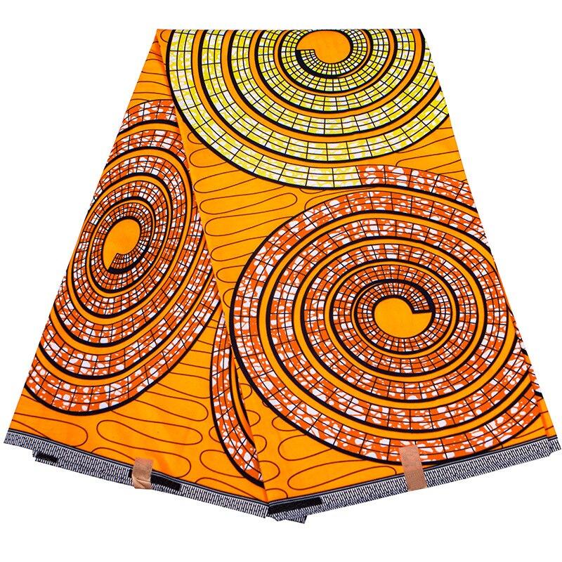 6 ярдов Африканской ткани оптом 2021 Высококачественная настоящая восковая ткань Африканская анкарская ткань для женщин восковая ткань