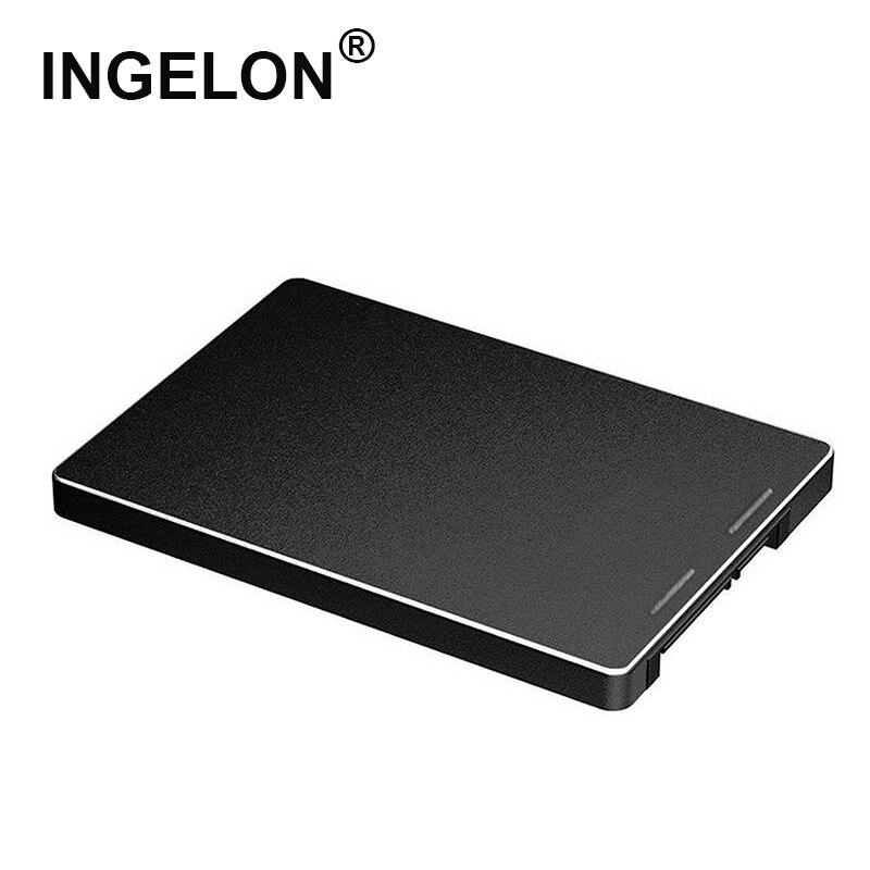 Ingelon hdd gabinete m.2 ssd para sata 3.0 metal 2242/2260/2280mm ngff caixa preta m2 caso adaptador para computador portátil