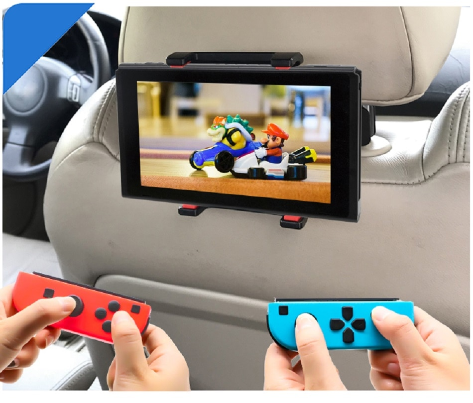 Headrest Car Stand Mount Bracket For Nintend Switch Adjustable Holder for Nintendo Switch Console iPad Smart Phone and Tablet