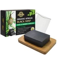 120g snail charcoal bar shower soap%e2%80%8b %e2%80%8bbody%e2%80%8b and %e2%80%8bface depping cleaning soap anti acne remove blackheads soap for all skin types
