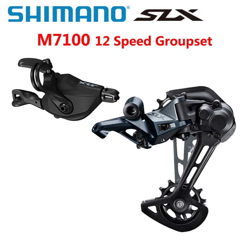 SHIMANO DEORE SLX 12 Speed M7100 Groupset Mountain Bike Groupset 1x12-Speed SL + RD M7100 Rear Derailleur m7100 Shifter Lever