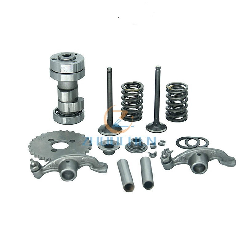 Accesorios de motocicleta GT-104 culata de cilindro Lifan 110CC culata de cilindro juego completo de fabricación de piezas a granel