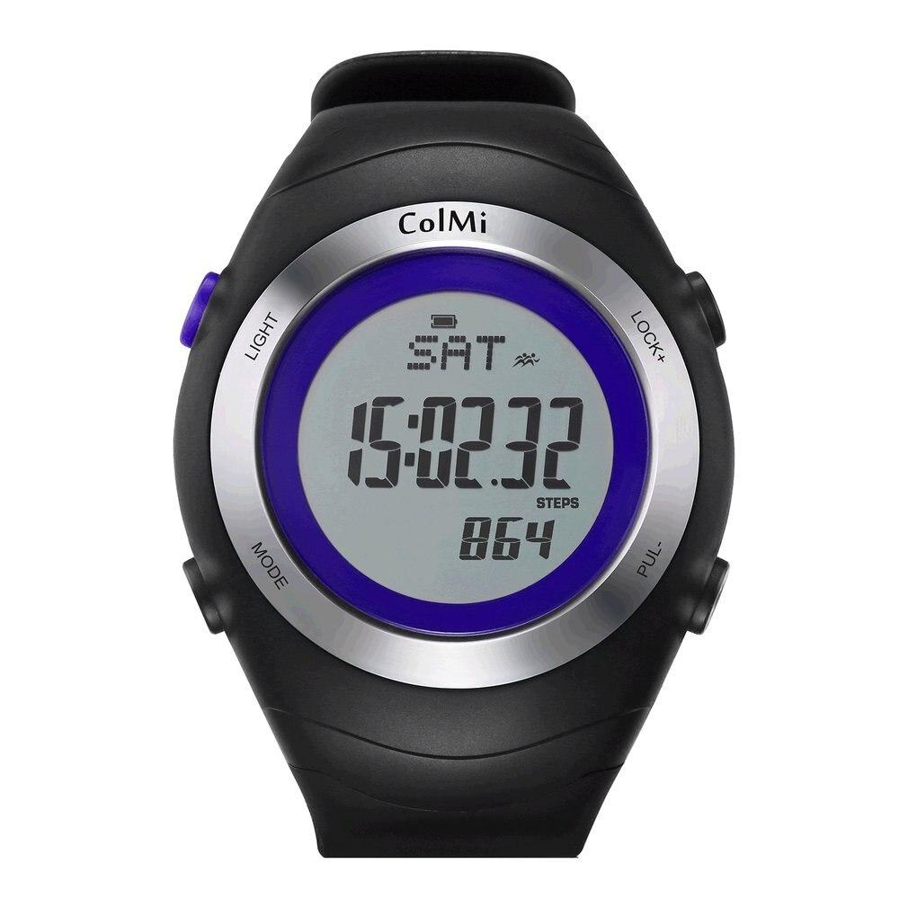 ColMi Smart Watch Fast 5ATM IP68 Monitor de ritmo cardíaco impermeable pasos calorías tiempo de ejercicio en espera 30 días reloj inteligente hombre