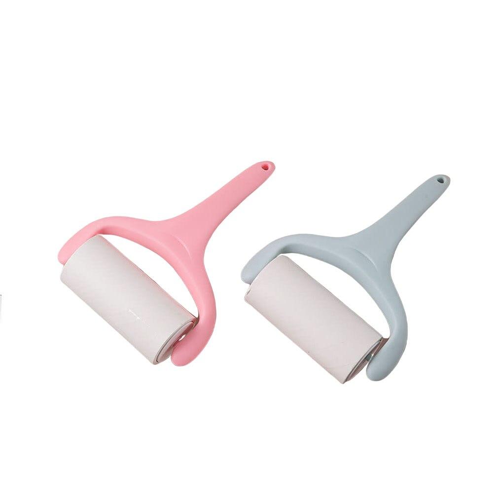 Съемные ролики из ворса с выдвижной бумагой-наклейкой для удаления волос, бытовая Чистка
