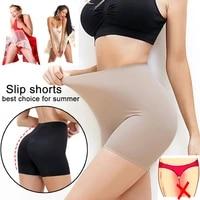 shapewear slip shorts for women thigh slimmer slip shorts under dress tummy control panties body shaper slimming underwear