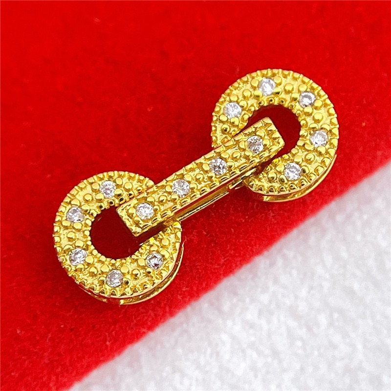 100pcs/Lot High Quality 14K Gold Filled Clasps Hooks for Bracelet Necklace Connectors DIY Jewelry Making Supplies Free Shipping