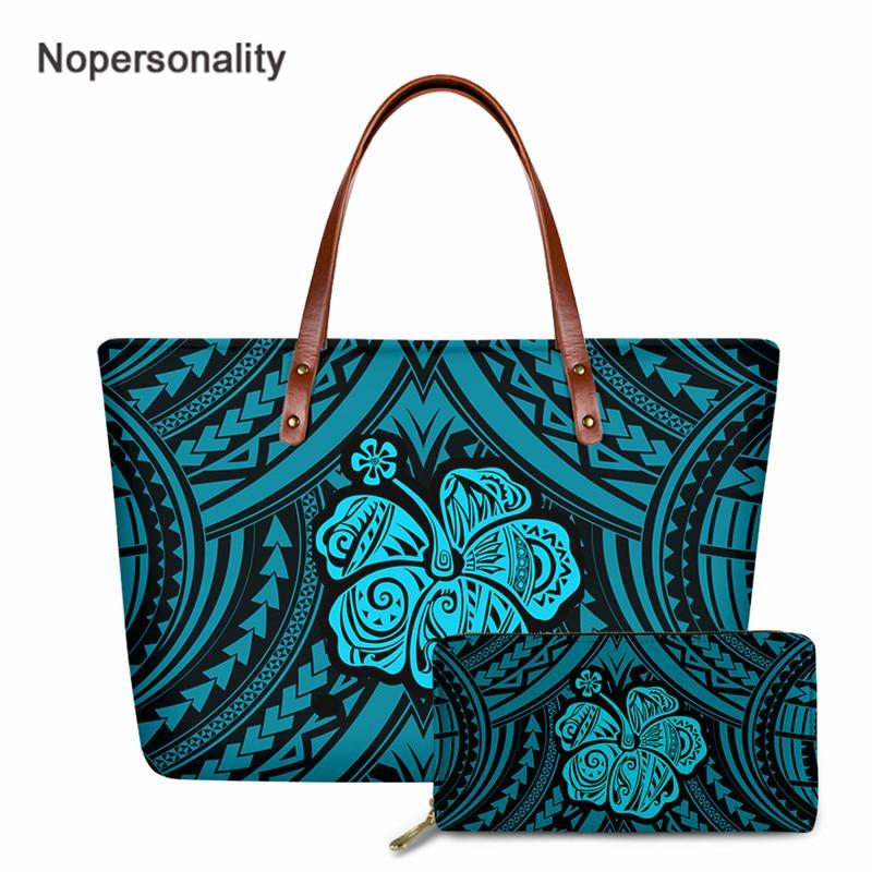 Nopersonality de hibisco Hawaiano impresión Bolso de las señoras Top de moda-Manejar...