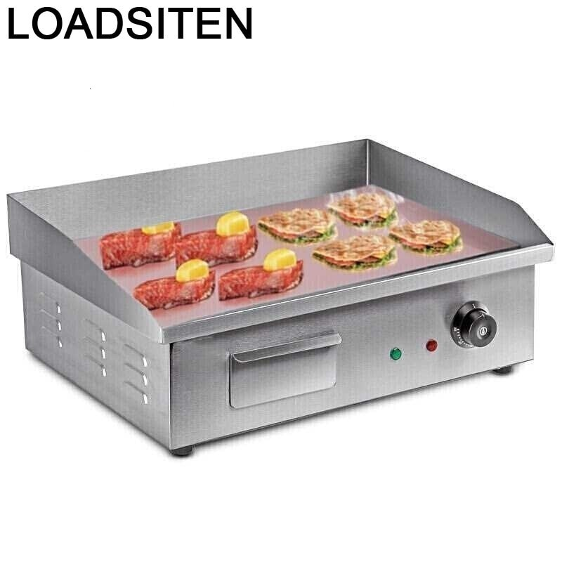 Máquina de Kebab coreana para cocina al aire libre, Asador eléctrico para...
