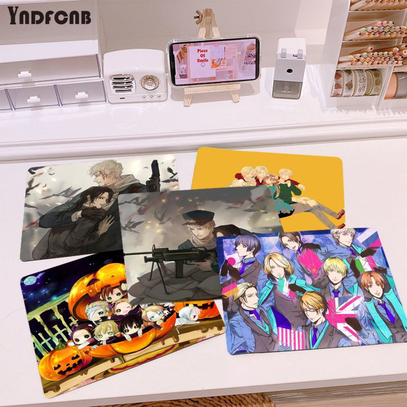 YNDFCNB высококачественные коврики для компьютерной игровой мыши Axis powers Hetalia или Overwatchs, лидер продаж, оптовая продажа, игровой коврик для мыши