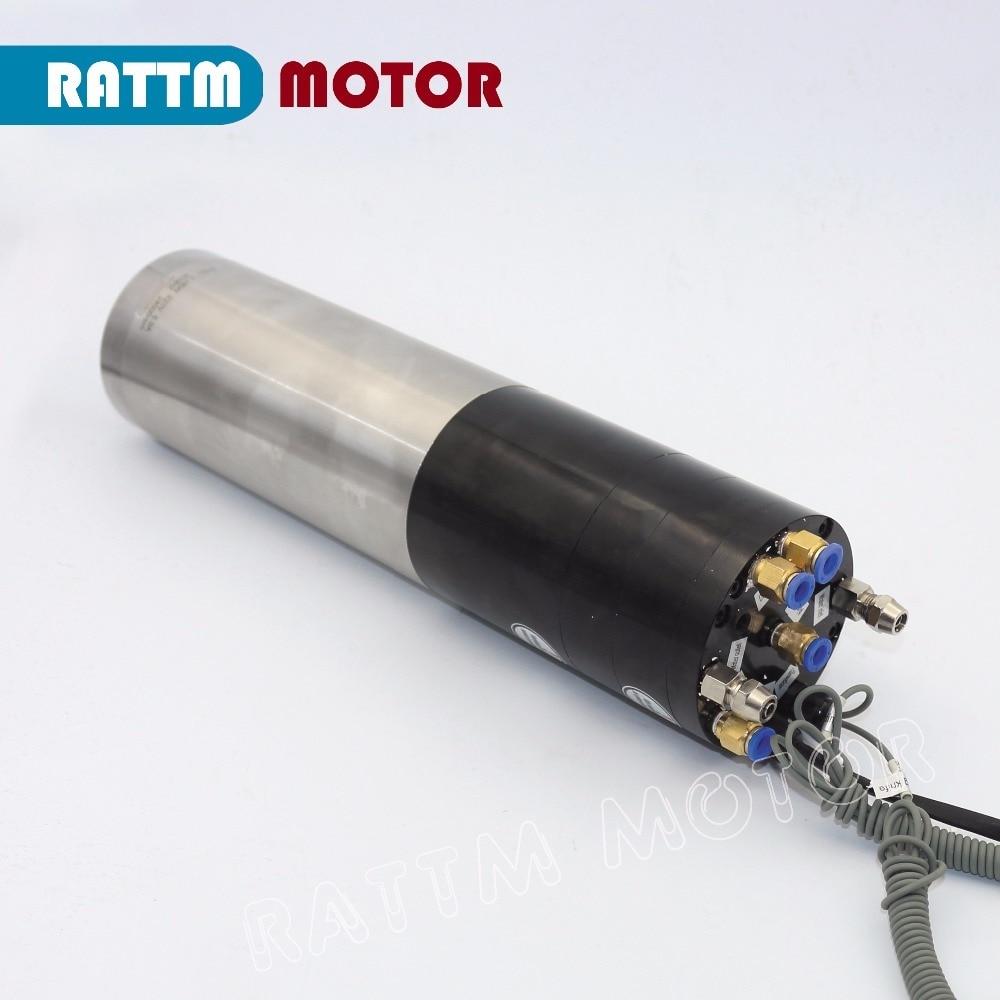 6,4 kW CAMBIO DE Herramienta automática 380V MOTOR de eje ATC BT 30 alimentación permanente eje eléctrico para máquina de fresado CNC