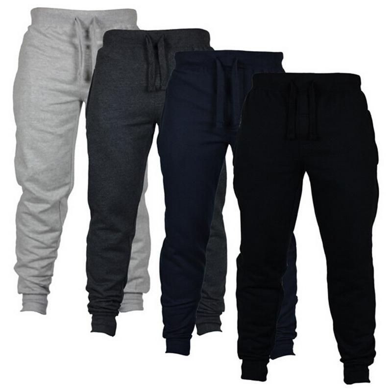 Calças casuais sweatpants moda sólida alta rua calças dos homens corredores oversize marca de alta qualidade cinza calças