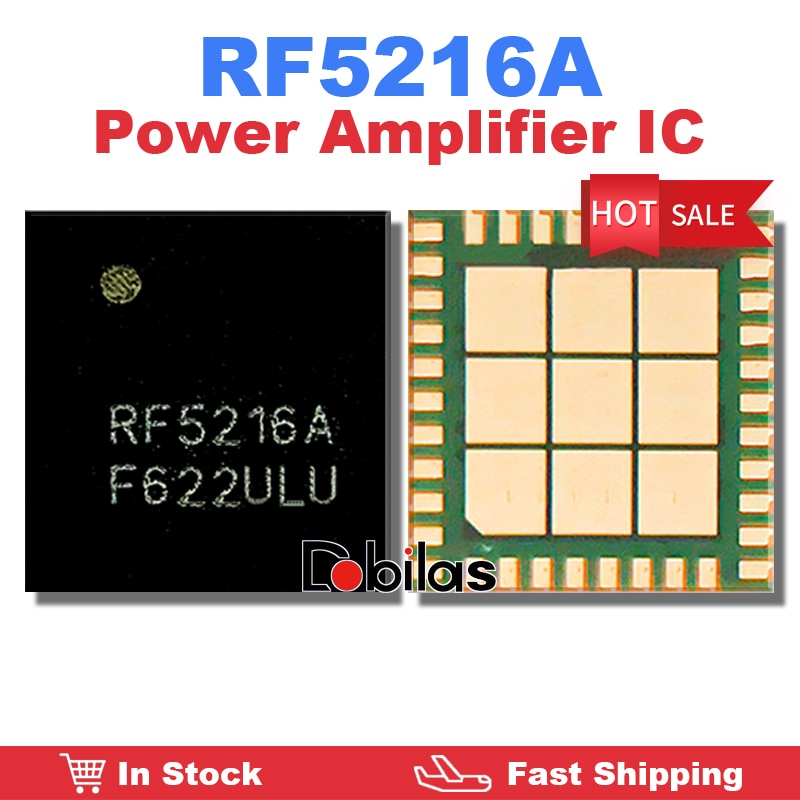 5Pcs/Lot RF5216A Power Amplifier IC New Original Mobile Phone Integrated Circuits Replacement Parts