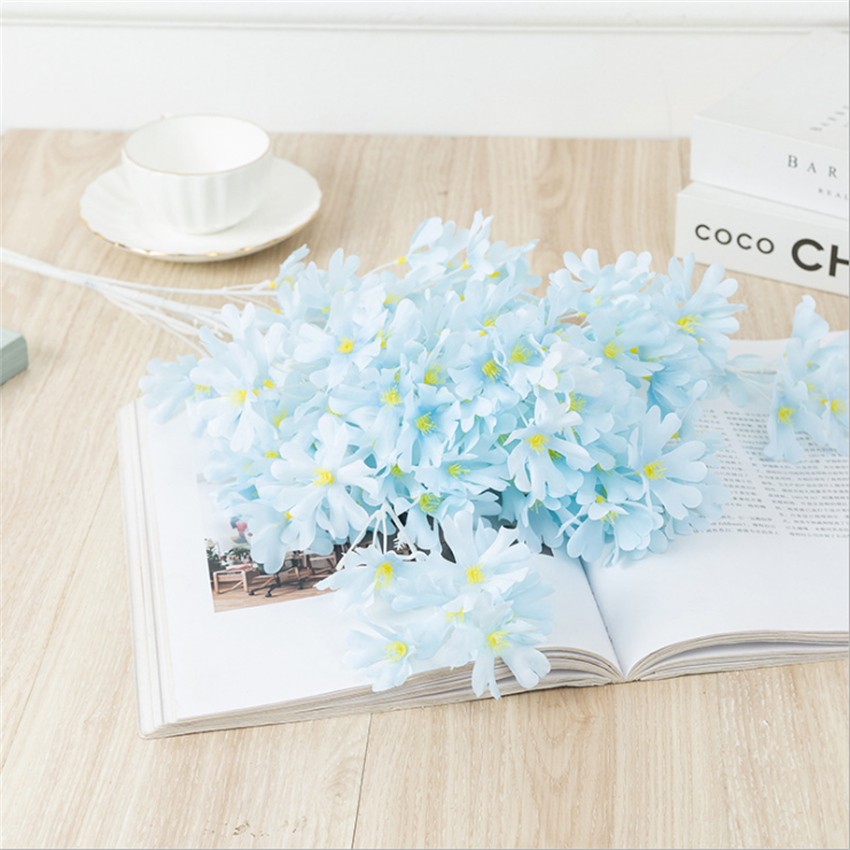New 87cm Winter Jasmine Artificial Flower Home Living Room Display Decoration Hotel Wedding Photography Props Autumn Decoration