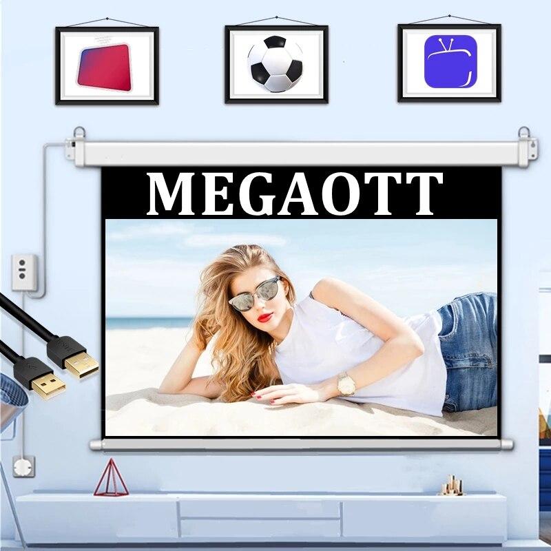 Megaott-bobinador-de-cables-USB-4K-HD-1080P-accesorios-de-cable