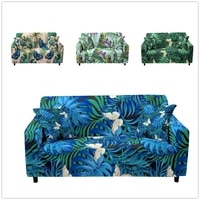 3d printed butterfly pattern sectional corner couch cover set singletwothreefour seater elastic slipcover